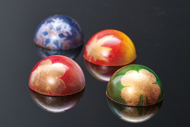 Tokyo confectioner's Japanese-style seasonal chocolates look beautiful enough to decorate with