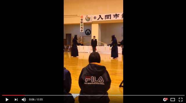 Hilariously intense kendo match shows off the psychological side of the samurai sport 【Video】