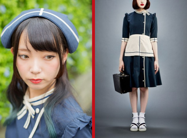 Japan's new Nurse Maid Dress combines two playfully iconic looks in one charming outfit 【Photos】