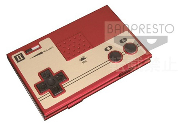 Impress clients and colleagues with the Nintendo Famicom controller business card case from Japan