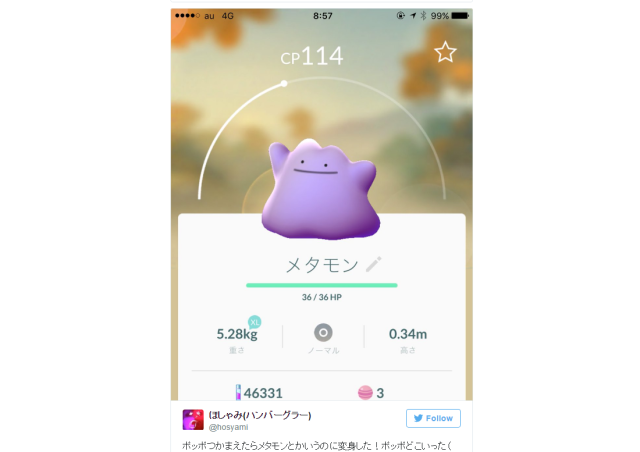 Ditto makes long-awaited debut in Pokémon GO, starts getting captured in Japan