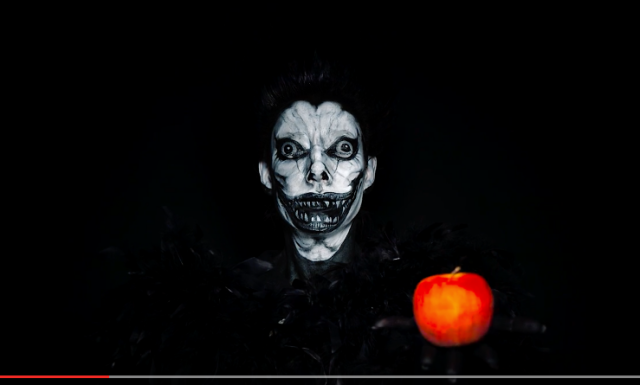 Japanese makeup artist transforms female TV personality into Ryuk from Death Note【Video】