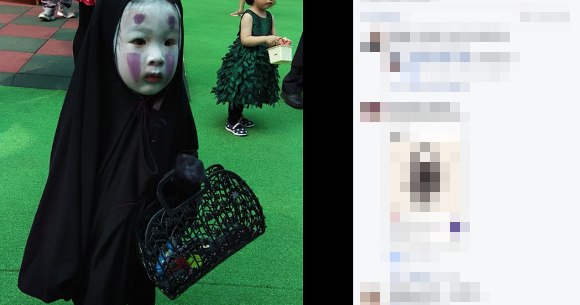 Kindergarten Student Scares Classmates By Dressing Up As No Face From Spirited Away For Halloween Soranews24 Japan News