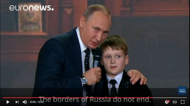 Ladies and Gentlemen, the comedy stylings of Vladimir Putin 【Video】