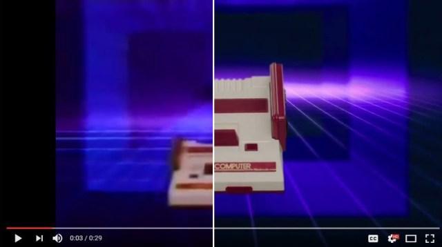 New Famicom Mini commercial emulates original 1983 Famicom ad but with crisper graphics