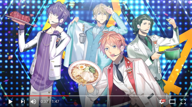 Japan's handsome anime ramen idols are back again to give you their hot, flavorful noodles【Vid】
