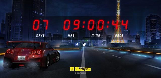 Popular racing game developer Genki begins countdown, fans' expectations build