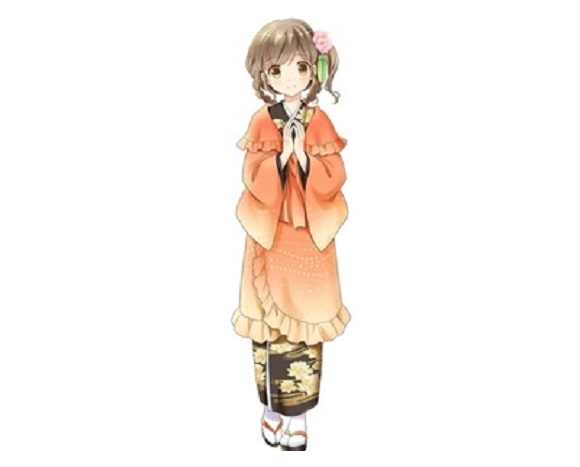 Whoa, dude, check out how cute that Buddhist altar/anime girl is!