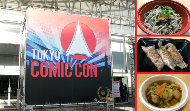 Tokyo Comic-Con wasn't just fun, it was delicious, and here're our top picks from its food booths