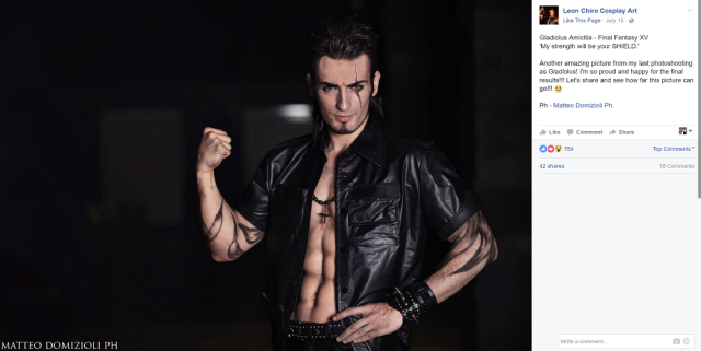 Final Fantasy XV Gladiolus cosplay is as gorgeous as the game itself 【Photos】