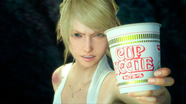 "Nissin joins up with Final Fantasy XV for awesome ""Cup Noodle XV"" promotion【Video】"