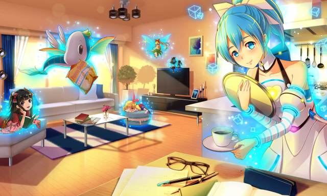 Live with a 3-D virtual servant inside your home with Gatebox, now available for pre-order【Video】