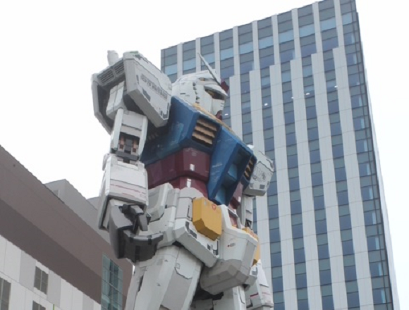 Goodbye, Gundam. Life-size mecha statue is leaving Tokyo next spring