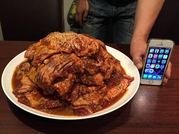 Tokyo yakiniku restaurant will hook you up with 2.9 kilos (6.4 pounds) of beef for less than US$3