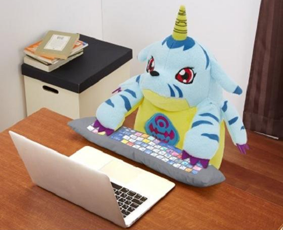 Digimon's Gabumon is the latest anime icon to be turned into an awesome huggable PC cushion