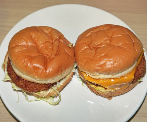 """We check out this year's new """"Ultra"""" Gratin Croquette Burger from McDonald's Japan"""