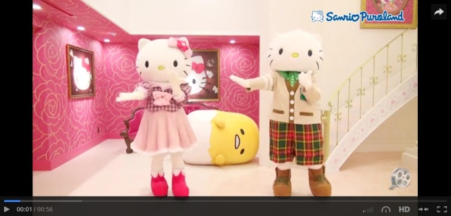 "Sanrio characters Hello Kitty, Daniel, and Gudetama join in the new ""Koi Dance"" craze"