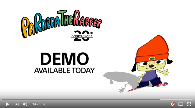 PaRappa the Rapper returns in remastered version of iconic '90s video game 【Video】
