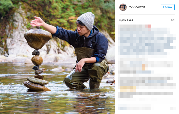 Japanese rock balancing artist is so amazing he's now the star of a new ad for Sony【Pics, Video】