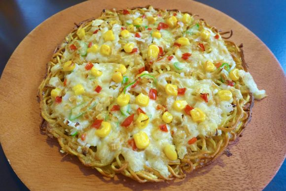 Is ramen pizza just crazy enough to work? Japanese restaurant's unusual menu lets us find out