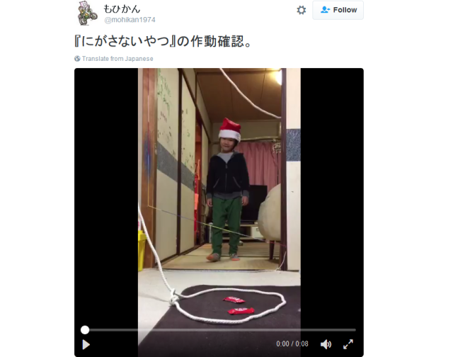 Japanese kids set hilarious and ingenious traps to capture Santa Claus【Pics, Videos】