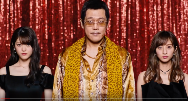 Piko Taro dances with candy, beetles, lemons and beautiful Japanese idols in new versions of PPAP