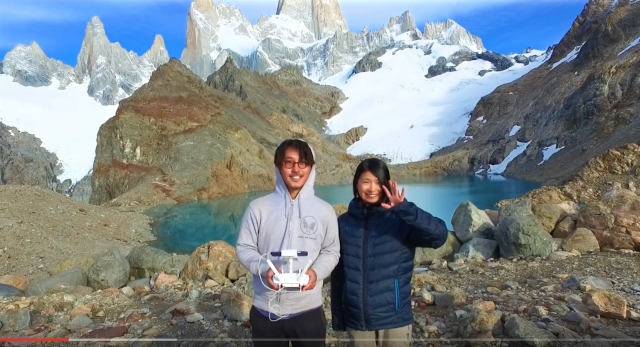 Japanese couple capture their 400-day honeymoon around the world with spectacular drone footage