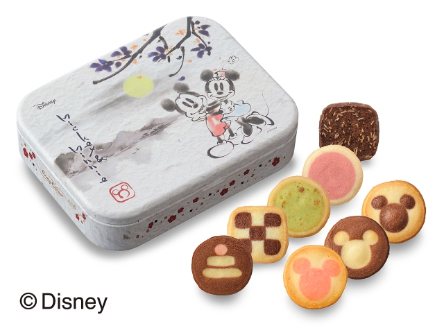 New Year's range of Disney sweets feature characters drawn in traditional Japanese sumi-e ink art