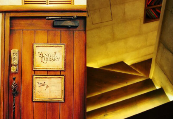 ANGEL LIBRARY in Kyoto, a hidden underground cafe that you need a special code to enter 【Pics】