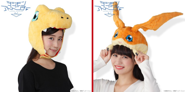 Awesome Digimon anime hats are here to keep your head and heart warm