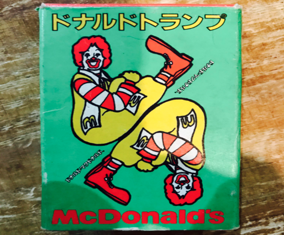 Donald Trump playing cards exist in Japan thanks to McDonald's