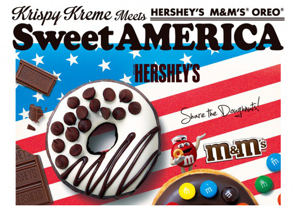 "Krispy Kreme set to release new ""Sweet America"" range of doughnuts in Japan"