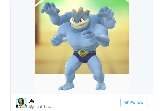 Japanese Twitter user gets Machamp clothes in lucky bag…but not in the way you think