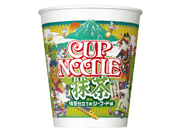Green tea Cup Noodle brings matcha to the wonderful world of instant ramen