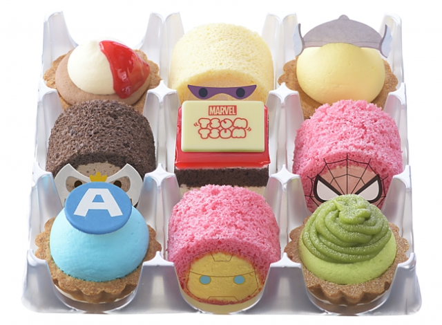 Avengers assemble…for dessert! Marvel superheroes become cute and tasty cakes in Japan