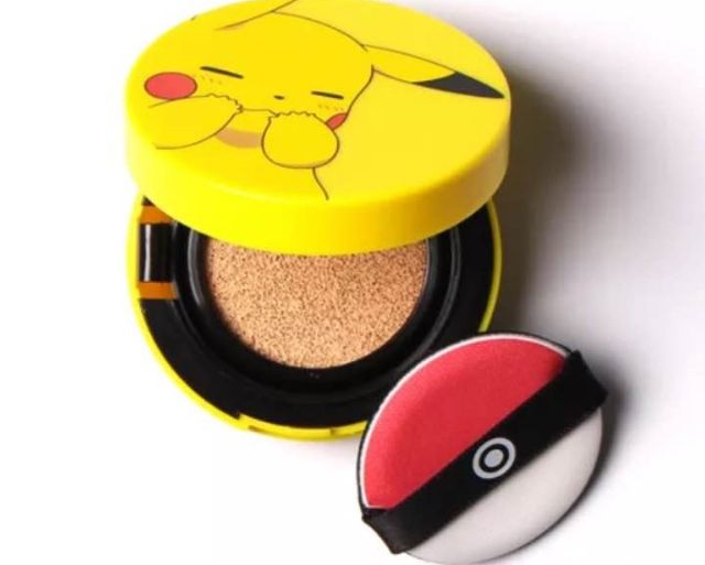 Pikachu cosmetic compacts have an awesome surprise waiting inside