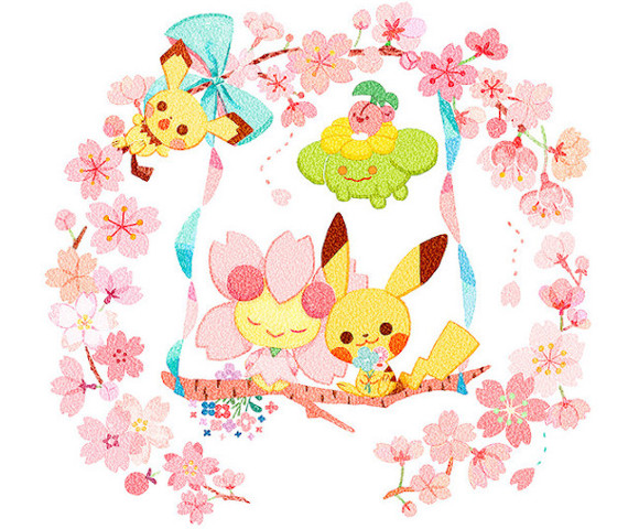 Pokémon characters show their love for sakura with cute new cherry blossom merchandise