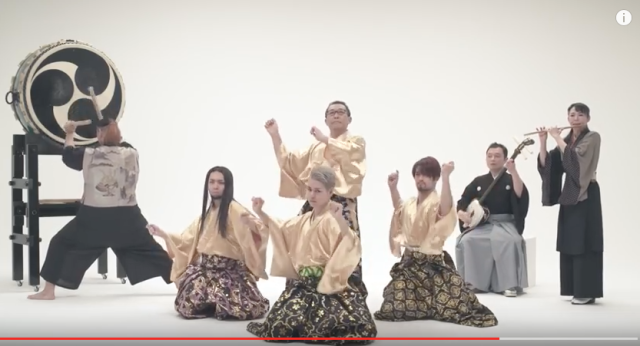 Japanese singer wishes fans a Happy New Year with traditional version of Pen-Pineapple-Apple-Pen