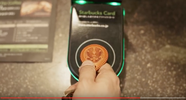 Starbucks teams up with Japanese clothing brand to create stylish new contactless payment system
