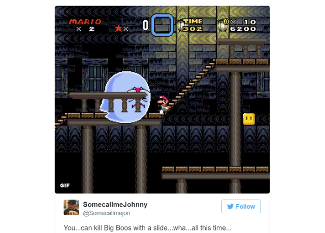 After 27 years, a secret technique for defeating enemies in Super Mario World has just been found