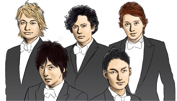 SMAP idol group members issue farewell messages to fans