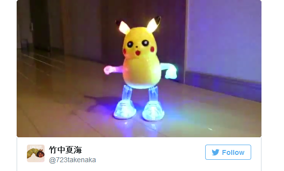 Dancing Pikachu drops electric Poké-beat as a Taiwanese knockoff toy 【Video】