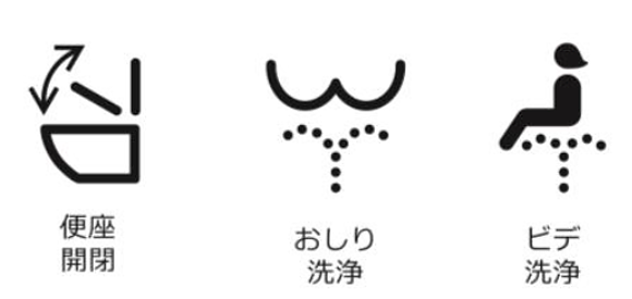 Japanese spray toilets receive new standardised symbols to help foreign tourists