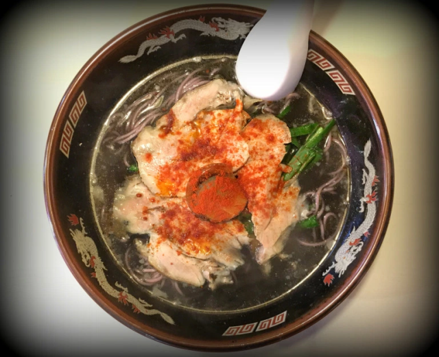 "Be brave! Japan's pitch-black ""ghost ramen"" tastes better than it looks"