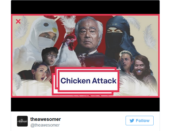 "Legendary chicken-loving Japanese yodeler releases new music video: ""Chicken Attack""【Video】"