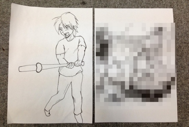 Our resident illustrator dramatically corrects an amateur drawing in 10 minutes