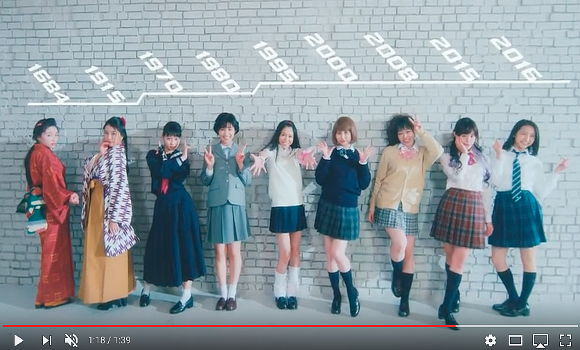 J-pop idol group gives us a lesson in iconic Japanese high school girl poses【Video】