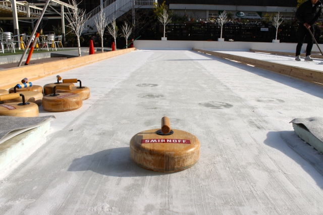 Try curling in the heart of Tokyo at this unusual rooftop hideaway bar