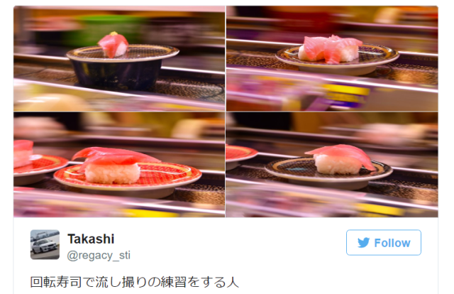 Dramatic, must-take photo opportunities have been hiding in Japan's revolving sushi restaurants