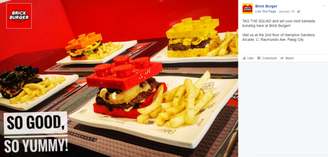 Brick Burger transforms Danish building blocks into scrumptious food to order【Video】